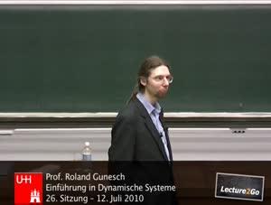 Miniaturansicht - Einführung in Dynamische Systeme - Sitzung 26 - 12.07.2010