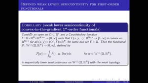 Miniaturansicht - Calculus of Variations: Lecture 4.2