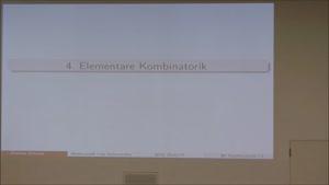 Miniaturansicht - Diskrete Mathematik - Informatik 1. Semester 17.11.2016