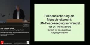 Vorschaubild - Peacebuilding, Nationbuilding