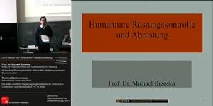 Miniaturansicht - 1.) Humanitäre Rüstungskontrolle und Abrüstung - 2.) Die Arbeit von Nicht-Regierungsorganisationen für Verbote von Landminen- und Streumunition