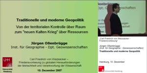 """Miniaturansicht - Traditionelle und moderne Geopolitik: Von der territorialen Kontrolle über Raum zum """"neuen Kalten Krieg"""" über Ressourcen"""