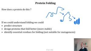 Thumbnail - Proteinfaltung Teil 1 von 3