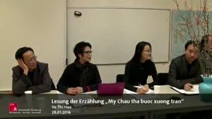 """Miniaturansicht - Diskussion zur Erzählung """"Mỵ Châu thả bước xuống trần"""" sowie zum Thema """"Văn đoàn độc lập"""" (vietnamesisch-deutsch)"""