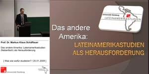 Miniaturansicht - Das andere Amerika: Lateinamerikastudien (Nebenfach) als Herausforderung