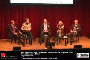 """Miniaturansicht - Podiumsgespräch zum Konferenzthema """"Digital Readiness"""" der Hochschulen"""
