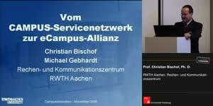 Miniaturansicht - Vom Campus Service Netzwerk zur eCampus Allianz