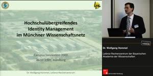 Miniaturansicht - Hochschulübergreifendes Identity Management im Münchner Wissenschaftsnetz