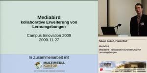 Miniaturansicht - Mediabird - kollaborative Erweiterung von Lernumgebungen