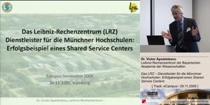 Miniaturansicht - Das LRZ – Dienstleister für die Münchner Hochschulen: Erfolgsbeispiel eines Shared Service Centers