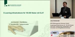 Miniaturansicht - eLearning-Infrastrukturen für 100.000 Nutzer mit OLAT: Outsourcing, Kooperation und Innovation als Erfolgsfaktoren