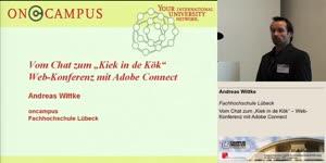 """Miniaturansicht - Vom Chat zum """"Kiek in de Kök"""" – Web-Konferenz mit Adobe Connect"""