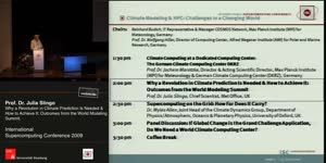 Miniaturansicht - Why a Revolution in Climate Prediction Is Needed and How to Achieve It: Outcomes from the World Modeling Summit