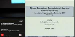 Miniaturansicht - HP Climate Computing as a Software Challenge