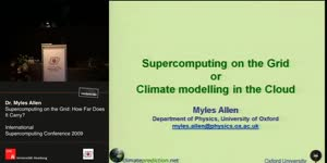 Miniaturansicht - Supercomputing on the Grid: How Far Does It Carry?