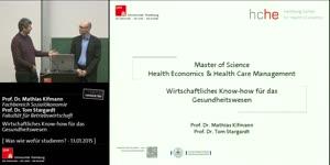 Miniaturansicht - Wirtschaftliches Know-how für das Gesundheitswesen