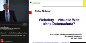 Vorschaubild - Webciety - virtuelle Welt ohne Datenschutz