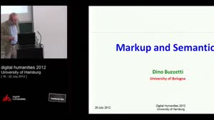 Miniaturansicht - Bringing together markup and semantic annotation