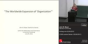 Miniaturansicht - The Worldwide Expansion of 'Organization'