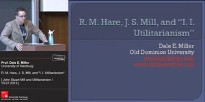 Thumbnail - R. M Hare, J. S. Mill and I. I. Utilitarianism