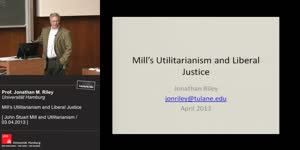 Thumbnail - Mill's Utilitarianism and Liberal Justice