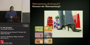 Miniaturansicht - Überwachung als Konsum? Konsum der Überwachung?