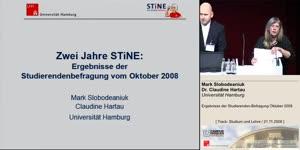 Miniaturansicht - Ergebnisse der Studierenden-Befragung Oktober 2008