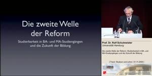 Miniaturansicht - Die zweite Welle der Reform: Studierbarkeit in BA- und MA-Studiengängen und die Zukunft der Bildung