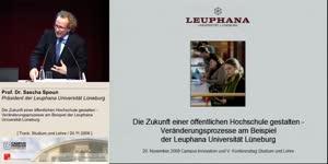 Miniaturansicht - Die Zukunft einer öffentlichen Hochschule gestalten - Veränderungsprozesse am Beispiel der Leuphana Universität Lüneburg