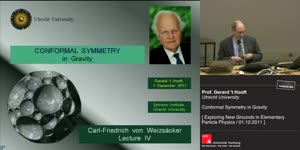 Vorschaubild - Conformal Symmetry in Gravity
