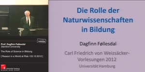 "Miniaturansicht - The Role of Science in ""Bildung"""
