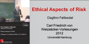 Miniaturansicht - Ethical Aspects of Risk