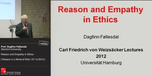 Vorschaubild - Reason and Empathy in Ethics