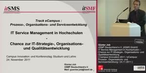 Miniaturansicht - ITSM in Hochschulen – Chancen zur IT-Strategie- und Change-Entwicklung