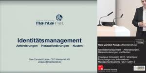 Miniaturansicht - Identitätsmanagement – Anforderungen, Herausforderungen und Nutzen