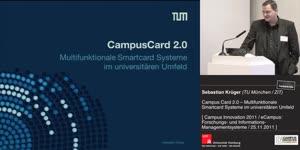 Miniaturansicht - Campus Card 2.0 - Multifunktionale Smartcard Systeme im universitären Umfeld