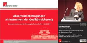 Miniaturansicht - Absolventenbefragungen als Instrument der Qualitätssicherung