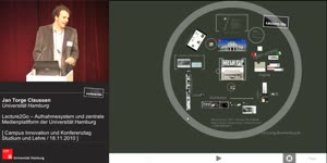 Miniaturansicht - Lecture2Go – Aufnahmesystem und zentrale Medienplattform der Universität Hamburg