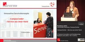 Miniaturansicht - CampusCenter – Service aus einer Hand