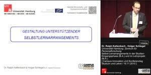 Miniaturansicht - Selbst-Lernarrangements in der Studien- Eingangsphase (B.A.) und im Lehrprojekt (M.A.)