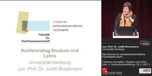 Miniaturansicht - Das Zentrum für rechtswissenschaftliche Fachdidaktik (ZerF) der Universität Hamburg