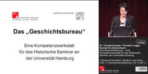 Miniaturansicht - Das Geschichtsbureau – eine Kompetenzwerkstatt für das Historische Seminar der Universität Hamburg