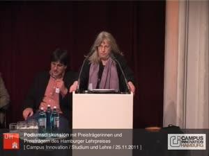 Miniaturansicht - Podiumsdiskussion mit Preisträgerinnnen und Preisträgern des Hamburger Lehrpreises