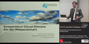Thumbnail - Kooperative Cloud-Services für die Wissenschaft