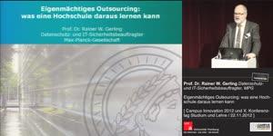 Miniaturansicht - Eigenmächtiges Outsourcing: Was eine Hochschule daraus lernen kann