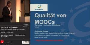 Miniaturansicht - Qualität von MOOCs