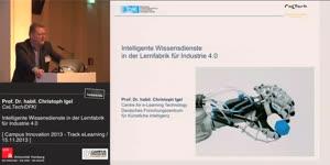 Miniaturansicht - Intelligente Wissensdienste in der Lernfabrik für Industrie 4.0