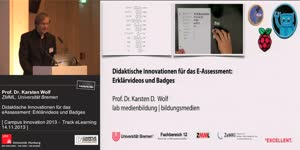 Miniaturansicht - Didaktische Innovationen für das eAssessment: Erklärvideos und Badges
