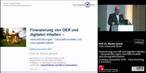 Miniaturansicht - Finanzierung von OER und digitalen Inhalten – Herausforderungen, Geschäftsmodelle und Lösungsalternativen