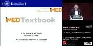 Miniaturansicht - Das Projekt Lernplattform iMED-Textbook
